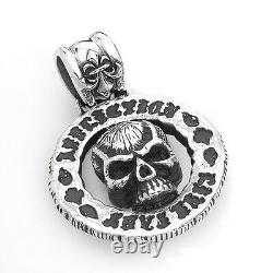 AFFLICTION Brand New Pendant Made in 925 Sterling silver 45.5g Retail $890