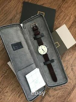Anordain New Model 1 Iron Cream Vitreous Enamel Watch JP&S limited edition