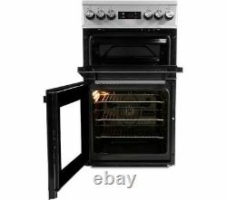 BEKO KDV555AS 50 cm Electric Solid Plate Cooker Silver Currys