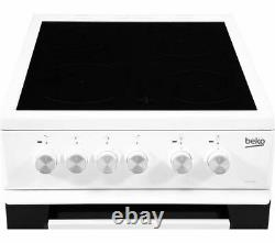 BEKO KDVC563AW 50 cm Electric Ceramic Cooker White Currys