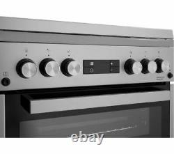 BEKO Pro XDVG675NTS 60 cm Gas Cooker Silver Currys