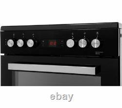 BEKO XDC653K 60 cm Electric Ceramic Cooker Black & Silver Currys