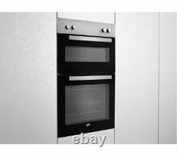 Beko Built In Electric Double Oven With Fan & Grill BXDF21000S UK Silver
