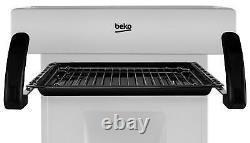 Beko KA52NES 50cm Single Oven Gas Cooker Silver