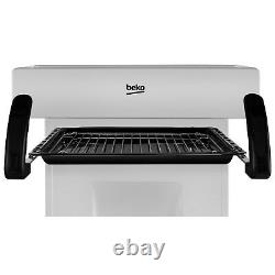 Beko KA52NES 50cm Single Oven Gas Cooker With Eye Level Grill Silver