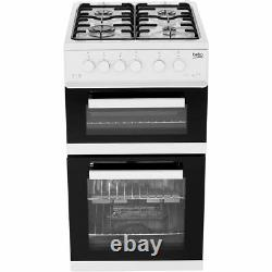 Beko KDG582S A+ Gas Cooker with Gas Hob 50cm Free Standing Silver New