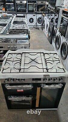 Beko KDVF90X 90cm 5 Burners A/A Dual Fuel Range Cooker Stainless Steel