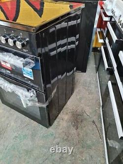 Beko XDC653K Black Electric Cooker Double Oven Ceramic Hobs 60cm XDC653 PEC