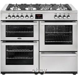 Belling Cookcentre 110DF Professional 110cm Dual Fuel Range Cooker Stainless S