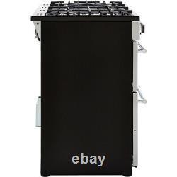 Belling Farmhouse100DF 100cm 7 Burners A/A Dual Fuel Range Cooker Silver New