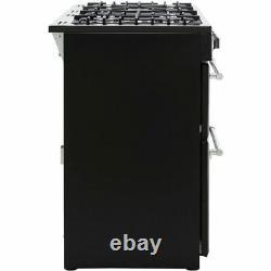 Belling Farmhouse110DF 110cm 7 Burners A/A Dual Fuel Range Cooker Silver New
