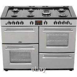 Belling Farmhouse110GT 110cm 7 Burners A/A Gas Range Cooker Silver New from AO