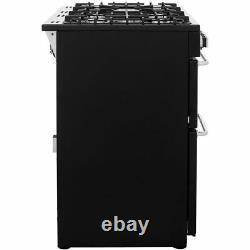 Belling SANDRINGHAM100DFT 100cm 7 Burners A/A Dual Fuel Range Cooker Cream New