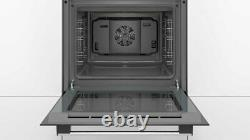Bosch HHF113BR0B Built In Single Electric Oven Stainless Steel