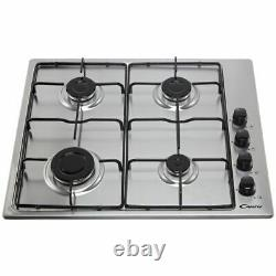 Candy COGHP60X/E Single Oven & Gas Hob Built In Stainless Steel