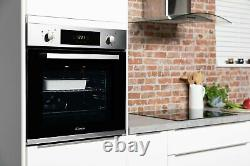 Candy FCP615X/E Built In Single Electric Oven Stainless Steel
