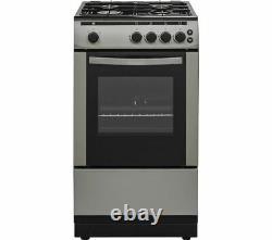 ESSENTIALS CFSGSV18 50 cm Gas Cooker Inox Currys