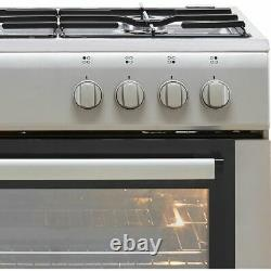 Electra SG60S A Gas Cooker with Gas Hob 60cm Free Standing Silver New