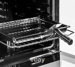 FLAVEL FSBG51S Gas Cooker Silver Currys