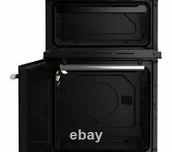 FLAVEL MLB71NDS 50cm Freestanding Gas Cooker 4 Burners Silver Currys