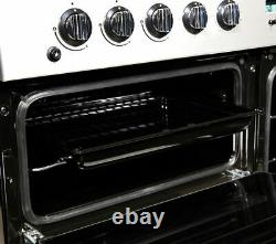 FLAVEL MLN10FRS Dual Fuel Range Cooker Silver & Chrome Currys