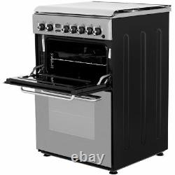 Indesit KDP60SES Free Standing B/B Dual Fuel Cooker with Gas Hob 60cm Stainless
