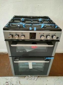 KENWOOD Freestanding Gas Cooker KDG606S19 60cm Silver New Graded