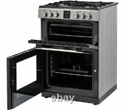 KENWOOD KDGC66S19 60 cm Dual Fuel Cooker Silver Currys