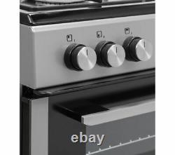 KENWOOD KTG606S19 60 cm Gas Cooker Silver Currys