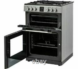 Kenwood Freestanding Dual Fuel with Grill 60cm KDGC66S19 Silver