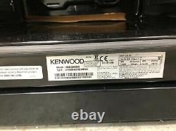 Kenwood KDG606S19 60cm Freestanding Dual Fuel Gas Cooker in Silver Double Oven