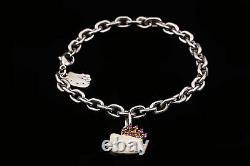 Kimora Lee Simmons Hello Kitty Sterling Silver Enamel & Sapphire Bracelet