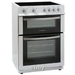 MDC600FS 600mm Double Electric Oven Ceramic Hob Fan Oven Silver