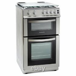 MDG500LS 500mm Double Gas Oven & Grill Silver
