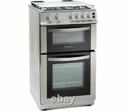 MONTPELLIER MDG500LS 50 cm Gas Cooker Silver Currys