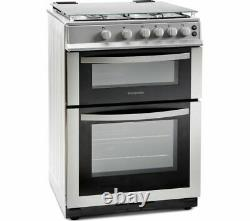 MONTPELLIER MDG600LS 60 cm Gas Cooker Silver Currys