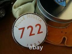 Mercedes Mille Miglia grille badge emblem SLR Moss 220 230 250 280 300 SL SLS