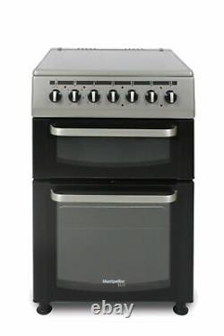Montpellier TCC60S Twin Cavity Electric Cooker Silver