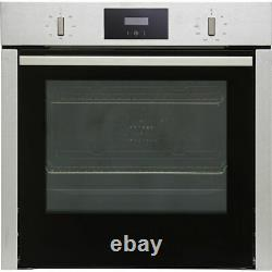 NEFF B3CCC0AN0B N30 Slide&Hide Built In 59cm A Electric Single Oven Stainless