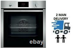 NEFF B3CCC0AN0B N30 Slide&Hide Built In Electric Single Oven + 2 Year Warranty