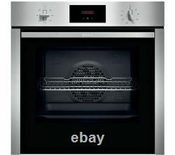 NEFF N30 B3CCC0AN0B Slide&Hide Electric Oven Stainless Steel Currys
