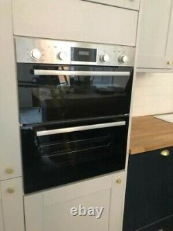 NEW Bosch Electric Double Oven NBS113BR0B Serie 2 Built Under 59cm