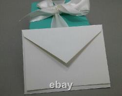 NEW Tiffany & Co. Large Oval Tag Blue Enamel Splash Charm Sterling Silver 925
