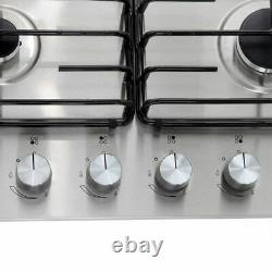 Samsung NA64H3110AS Built In 60cm 4 Burners Gas Hob Stainless Steel