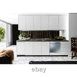 Smeg Cucina Fan Assisted Single Oven Silver Mirrored Glass