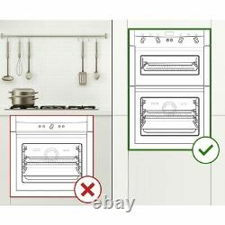 Smeg DOSF400S Cucina Built In 60cm A/B Electric Double Oven Stainless Steel New