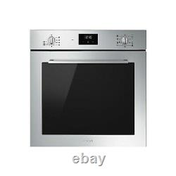Smeg SF6400TVX Cucina 60cm Multifuction Single Oven Stainless Steel