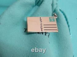 TIFFANY & CO STERLING ENAMEL GREETINGS FROM MUNICH GERMANY CHARM PENDANT With ETC
