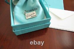 Tiffany & Co Sterling Enamel Greetings From Orlando Florida Charm With Etc